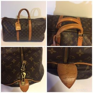 Louis Vuitton pre owned keepall 50